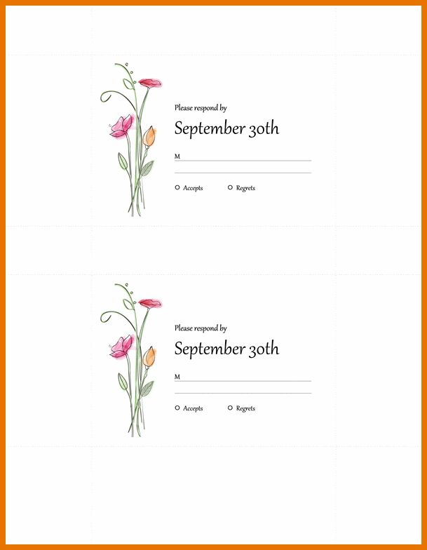 4+ free wedding invitation templates for word | Itinerary Template ...