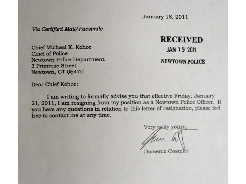 Read Resignation Letters of 2 Officers at Center of Police Union ...