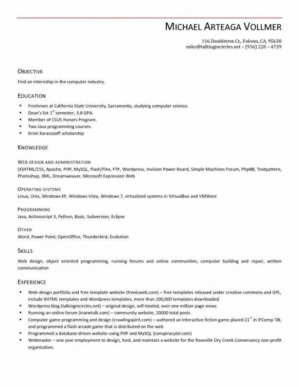Resume : Microsoft Skills Resume College Student Cover Letter For ...
