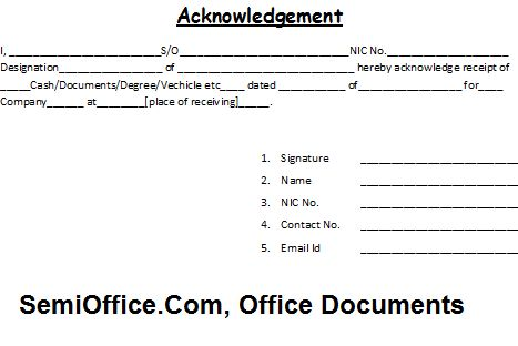 cheque received receipt format – Free Online Form Templates