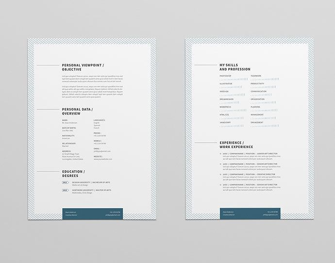 8 best CV images on Pinterest | Resume design, Resume ideas and ...