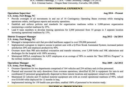Resume Template Word Military To Civilian Resume Sample Templates .