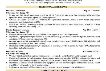 resume template word military to civilian resume sample templates ...