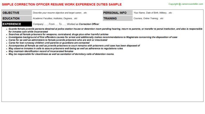 probation officer resume and parole officer resume cover letter ...