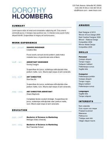 Download Best Resume Maker | haadyaooverbayresort.com