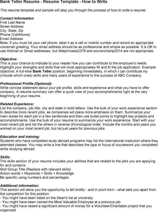 Credit Union Teller Cover Letter