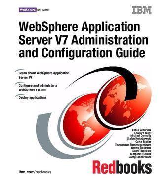 WebSphere Application Server V7 Administration and Configuration ...