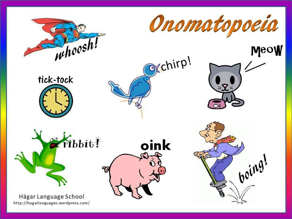 Onomatopoeia | Hägar Language School
