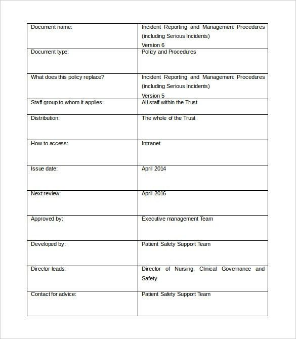 Management Report Template – 15+ Free Word, PDF, Documents ...