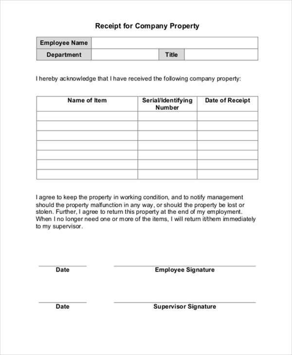 Company Acknowledgement Letter Templates - 5 +Free Word, PDF ...