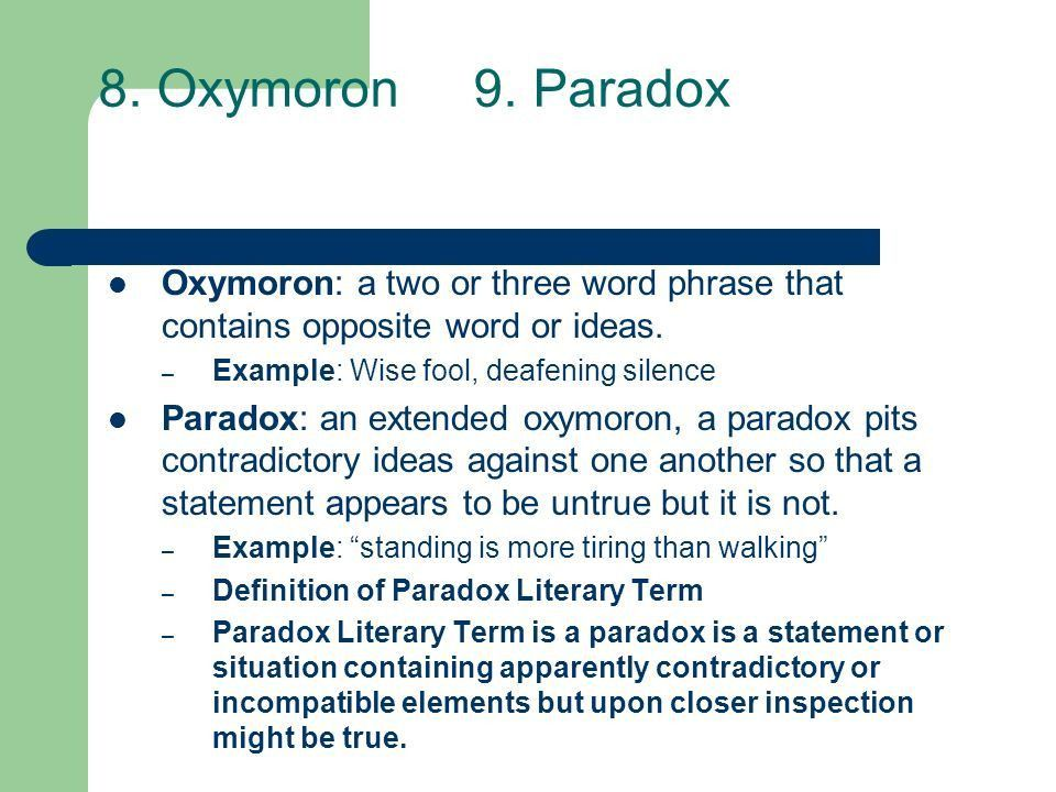 Literary Terms # 2 10 new terms Copy into your RN. - ppt download