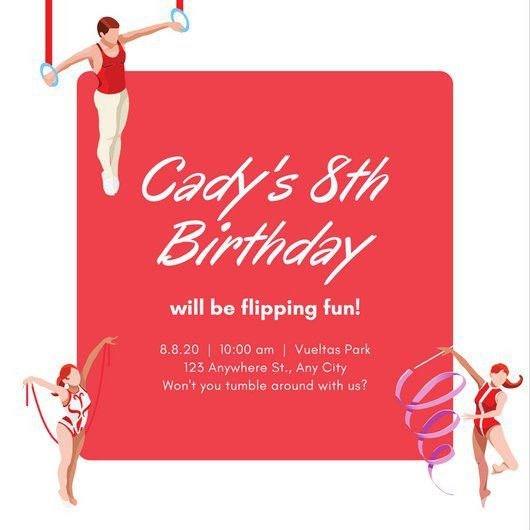 Birthday Invitation Templates - Canva