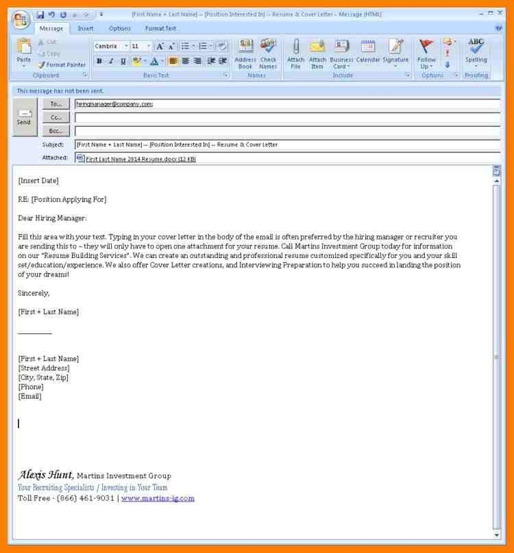10+ sample e mail cover letter | lease template
