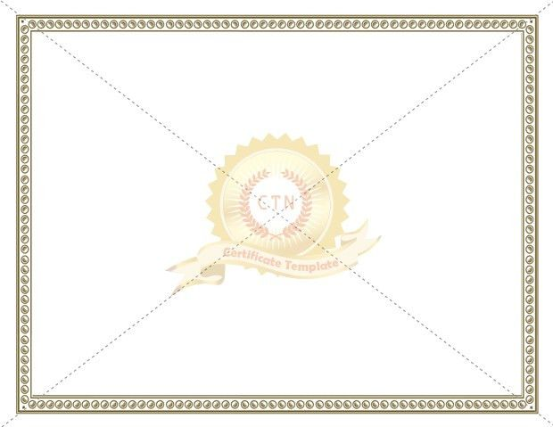 Certificate Borders Template Archives - Certificate Template