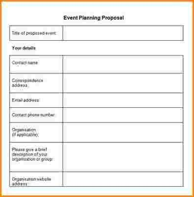 Event Proposal Format, best 25+ sample proposal letter ideas on ...