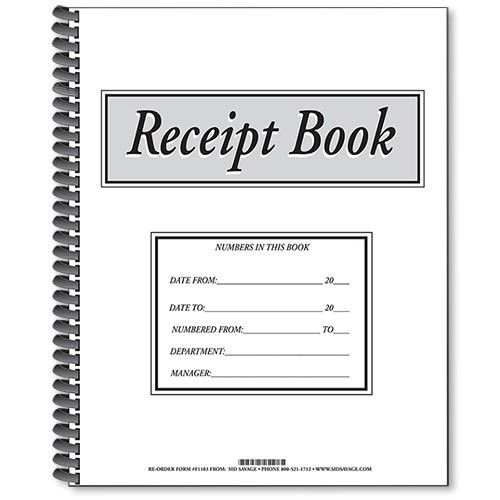 Receipt For Payment Received - Template Examples