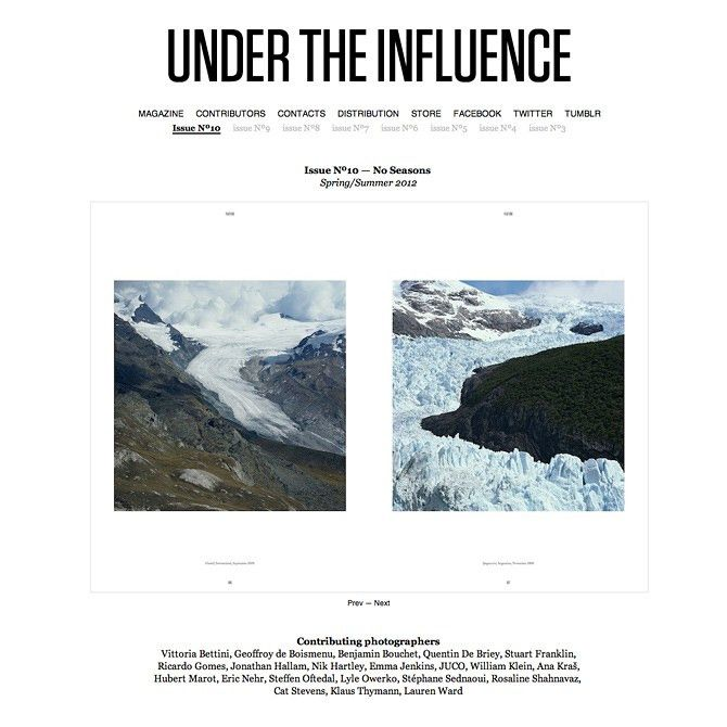 Under the Influence Magazine - Cargo - Favorite Sites
