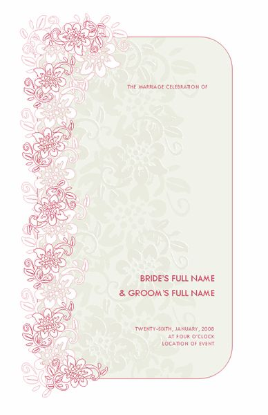 Microsoft Publisher Wedding Invitation Templates Downlo ~ Matik