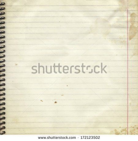 Vintage Grungy Lined Paper Stock Photo 34044754 - Shutterstock