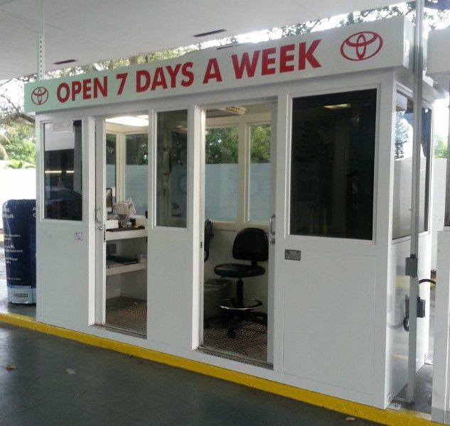 Service Writer Booth - Guard Booth - Guard Booths, Security Booths ...