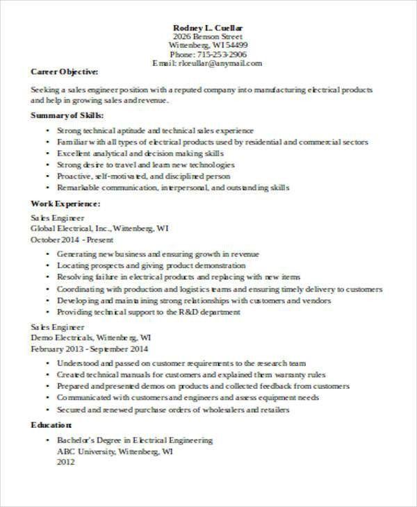 44+ Sales Resume Design | Free & Premium Templates
