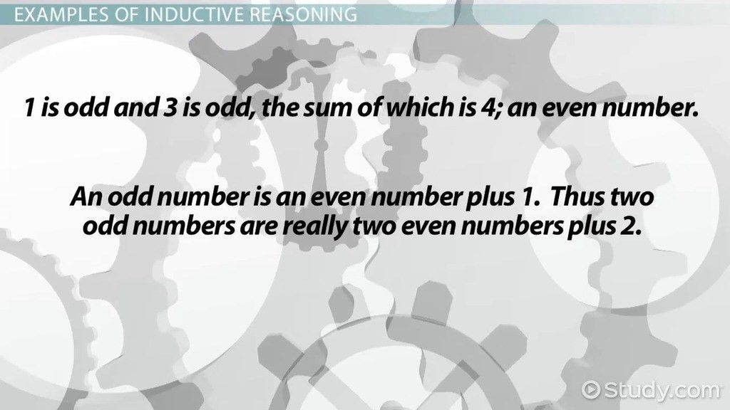 Reasoning in Mathematics: Inductive and Deductive Reasoning ...