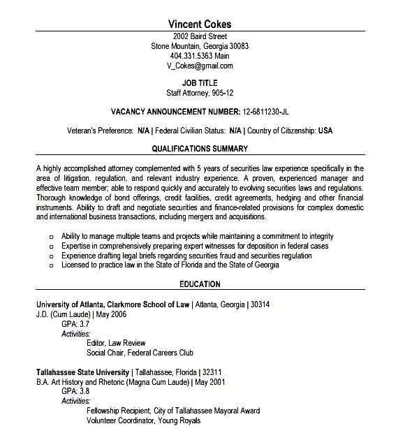 Lawyer Resume Template Download - Free Samples , Examples & Format ...