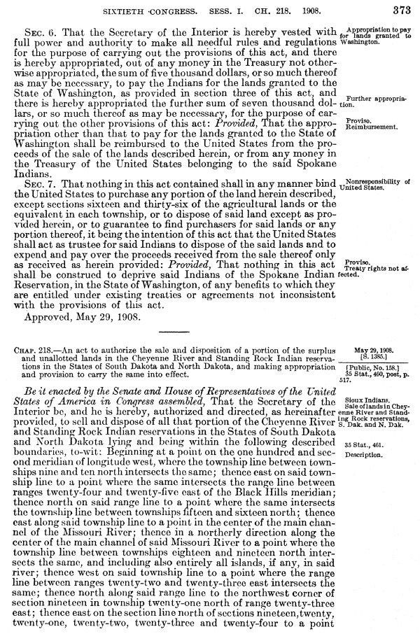 INDIAN AFFAIRS: LAWS AND TREATIES. Vol. 3, Laws