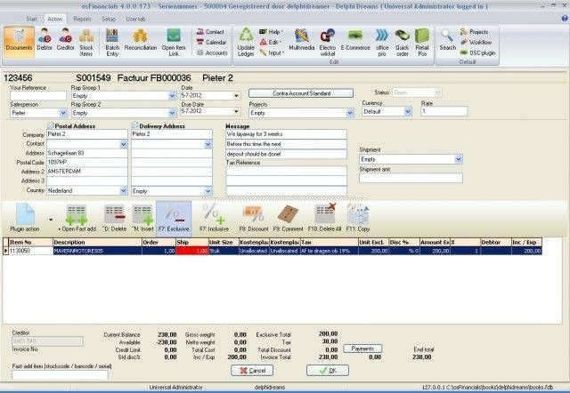 osFinancials Accounting Software download | SourceForge.net
