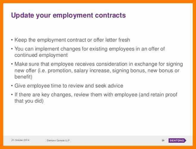 6+ change of employment letter | science-resume