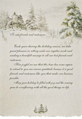 Christmas Card Letter Examples | Decorating Ideas