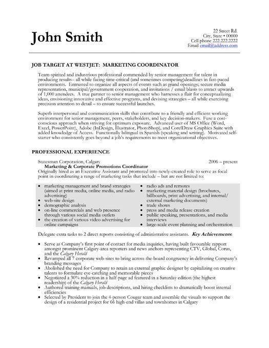 choose. 10 marketing resume samples hiring managers will notice ...