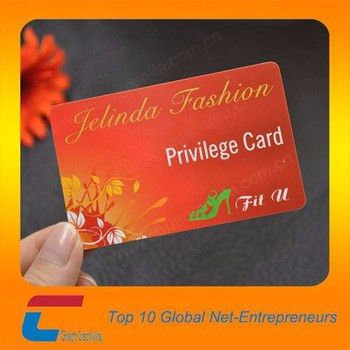 Free Sample Privilege Card Pvc Vip Membership Card Making - Buy ...