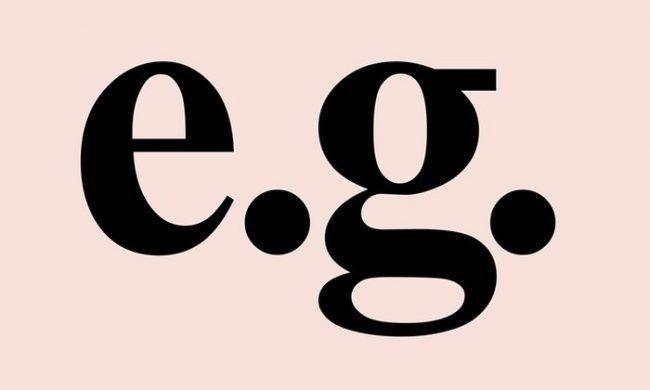 例えば(For example)の英語略はe.gとex.どちらを使う?