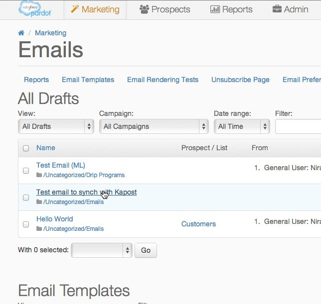 How to use Pardot in Kapost – Kapost Help Center