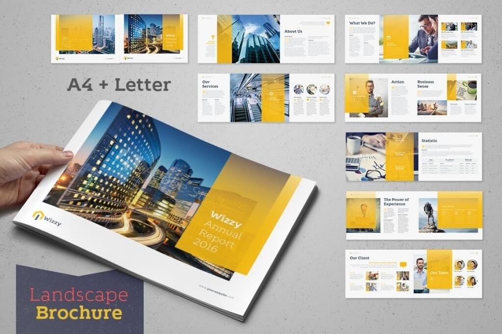 Annual Report Template   usefullhand.net