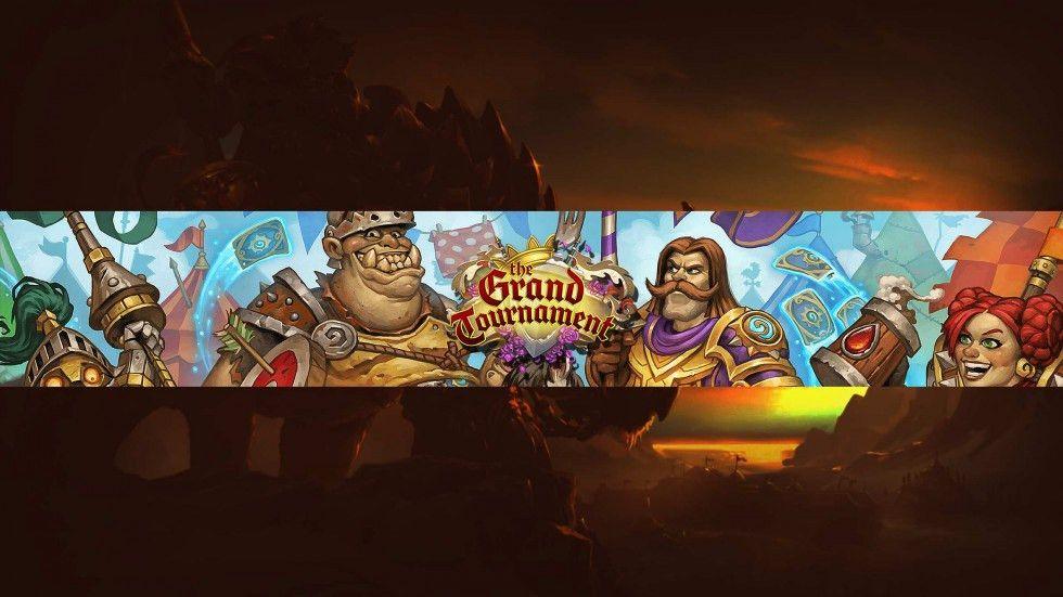 Hearthstone The Grand Tournament YouTube Channel Art   ytt