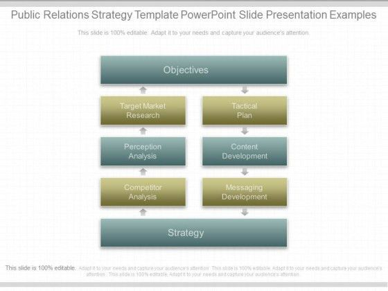 Public Relations Strategy Template Powerpoint Slide Presentation ...