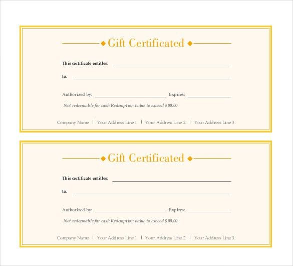10 Formatted Gift Border and PSD | Certificate Templates