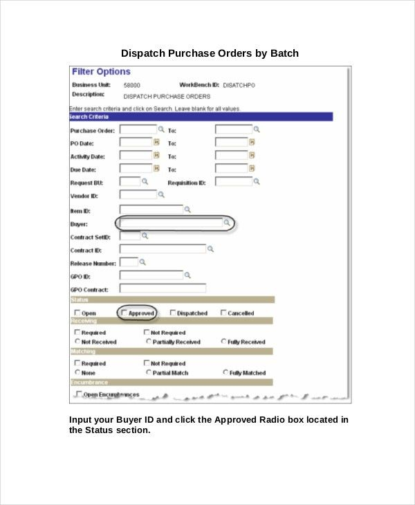 Purchase Order - 11+ Free Word, Excel, PDF Documents Download ...