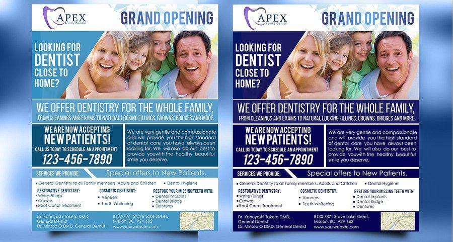 Entry #116 by AkshayVerma9 for Design a logo and Flyer for Dental ...