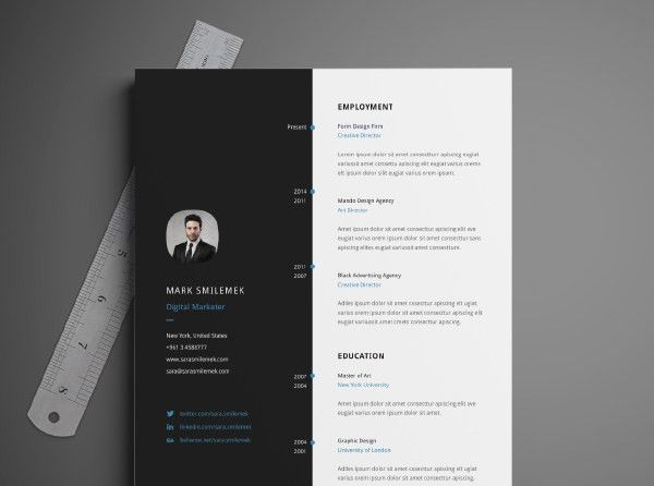 Free Neat Resume Template