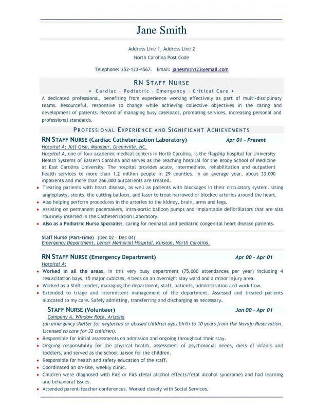 Resume : Nurses Cv Samples Llb Longform Skills For Hospitality ...