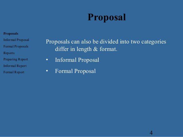 Proposal - Business Communcation