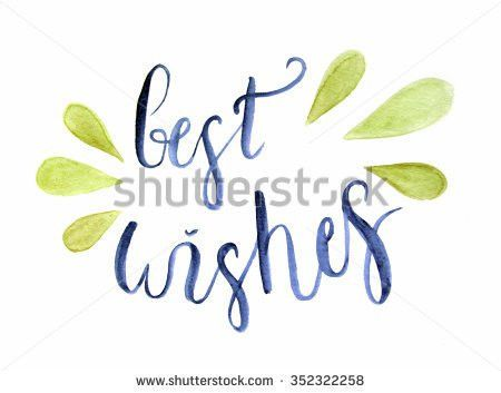 Best Wishes Stock Images, Royalty-Free Images & Vectors | Shutterstock