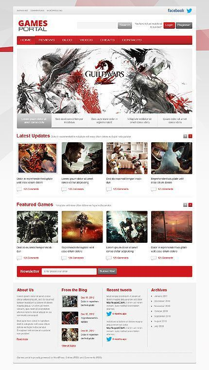 51 best Best HTML Website Templates images on Pinterest | Website ...