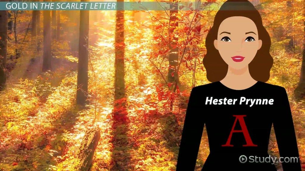 Color Symbolism in The Scarlet Letter - Video & Lesson Transcript ...