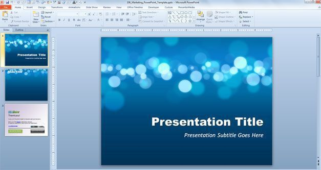 Free Marketing PowerPoint Template - Free PowerPoint Templates ...