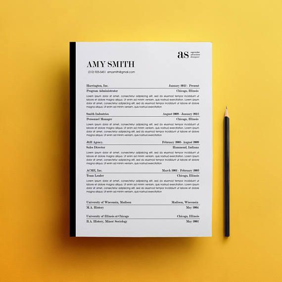 70 best Resume & Cover Letters images on Pinterest | Cv template ...
