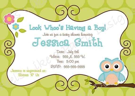 Free Printable Baby Shower Flyers Template | Baby Shower Ideas